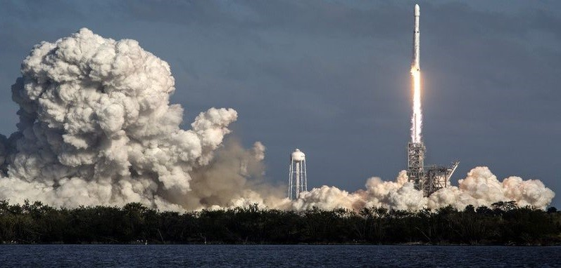 Falcon Heavy. Фото 1